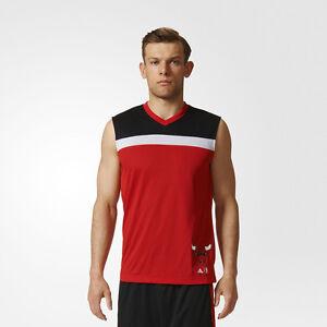 adidas Basketball Jersey NBA Chicago Bulls [redBlack]