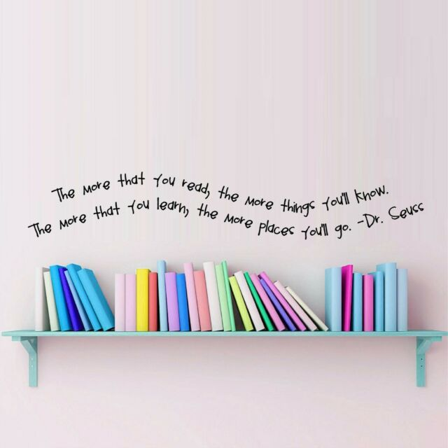 Unless Dr Seuss Quote Vinyl Wall Decal Lorax Truffula Trees Design White Decor For Sale Online Ebay