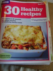 Bbc good food recipe booklet february 2012 30 healthy recipes image is loading bbc good food recipe booklet february 2012 30 forumfinder Images
