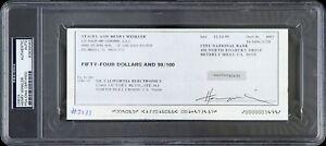 1990-Henry-Winkler-The-Fonz-Signed-Check-PSA-DNA-Slabbed