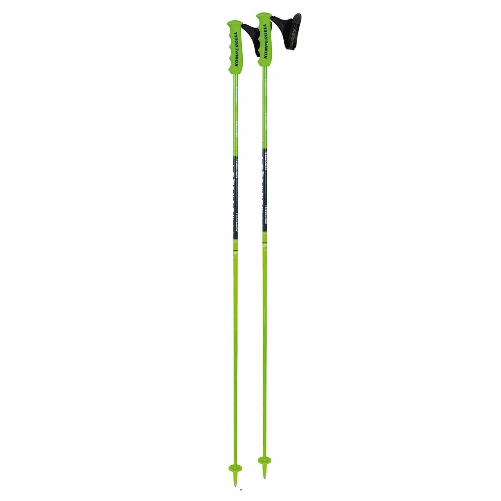 Komperdell National Team Carbon Skicross 12.3mm Ski Pole - Green