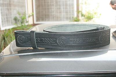 Entusiasta 100% Vera Pelle Kilt Cintura Regolabile Finitura Liscia/cintura In Pelle In Rilievo Reale-mostra Il Titolo Originale