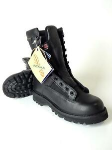 New-Black-Altama-All-Weather-Military-Specification-Waterproof-Boot-Size-4-5-R