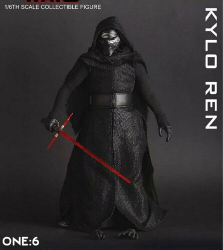 Crazy Toys 1//6TH SCALE Star Wars Kylo Ren Model Action Figure Toy Doll Statue