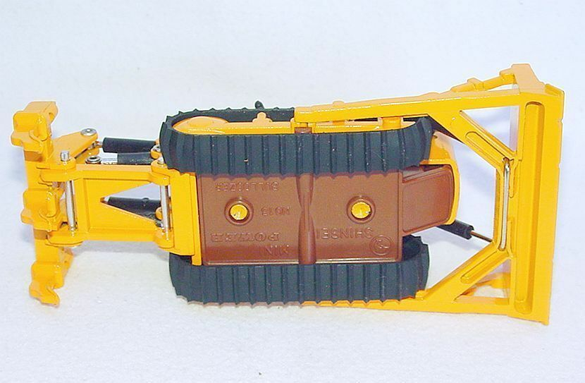Shinsei Mini Power 1 74 CATERPILLAR D6 D6 D6 SHOVEL BULLDOZER RIPPER 4132 MIB`76 RARE  29ff12