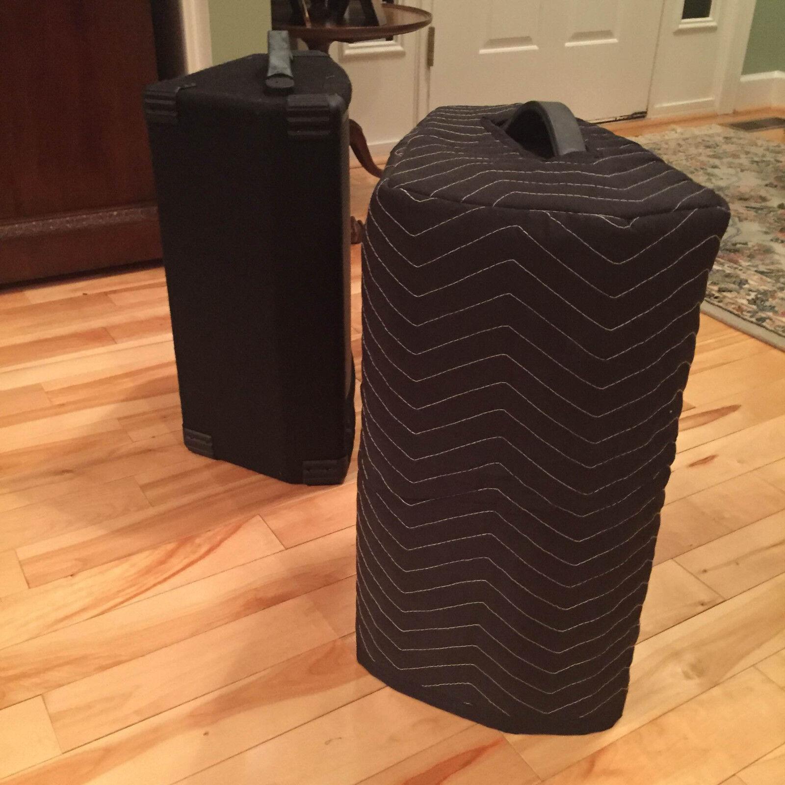 Behringer F1220D Premium Padded schwarz Speaker Covers - (2)  Qty of 1 = 1 Pair