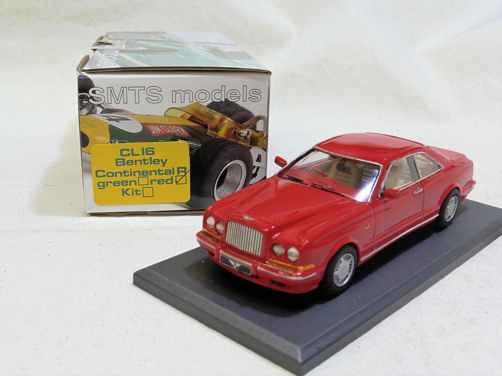 1/43 cl16 Bentley Continental R BY SMTS