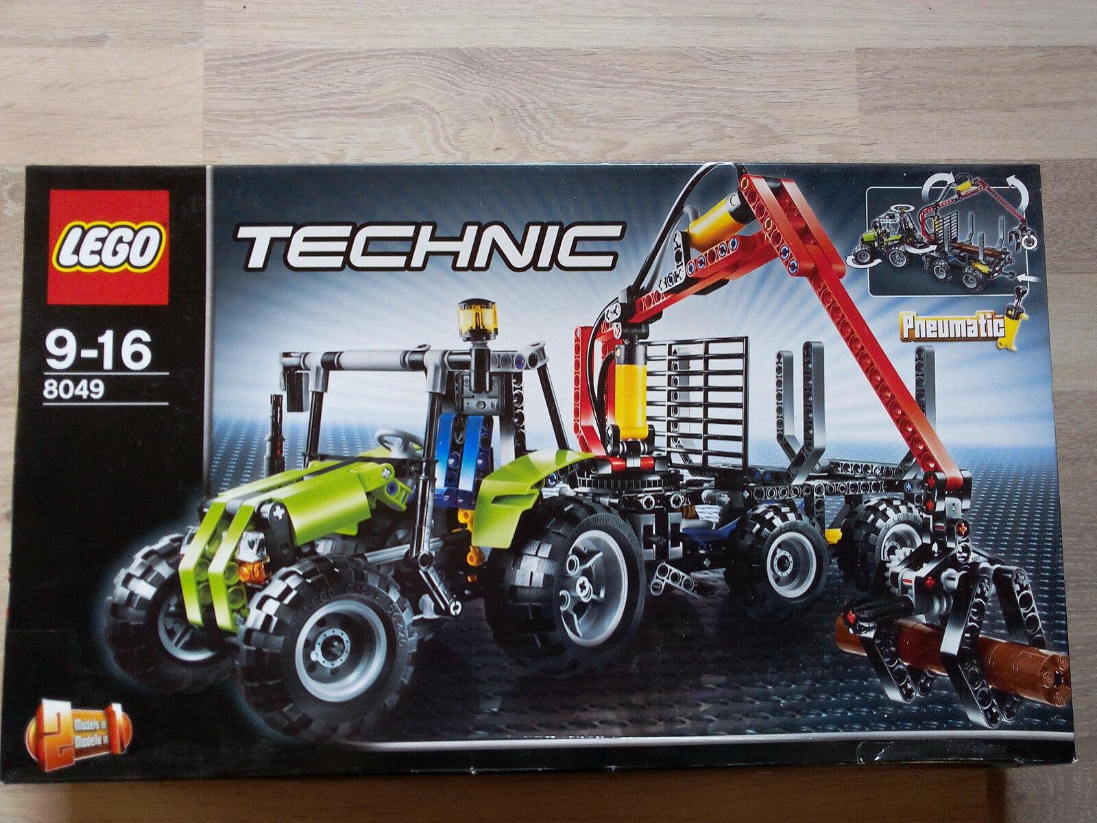 Lego Technic Technik 8049 Tractor with Log Loader   NEU & OVP - UNGEÖFFNET