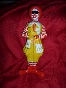 Tres Rare Figurine Vintage Ronald Mac Donald Mc Donalds
