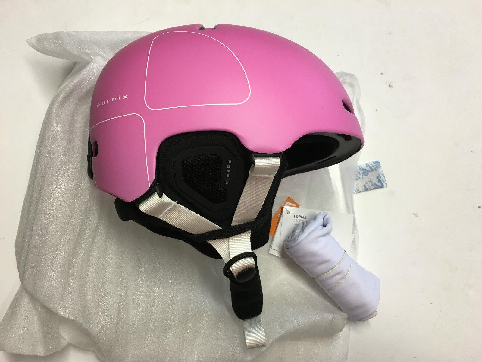 POC Fornix Snowboard Ski Helmet, Actinium Pink, X-Small-Small, 51-54cm, New