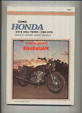 Honda CB450 CB500T 1965-1976 Clymer Trabajo-Manual Del Taller reparación libro CL CB 450 500 T
