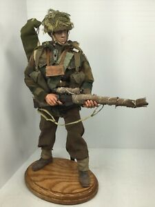 1 6 Bbi Custom British 1st Airborne Paratrooper Sniper Enfield Dragon Bbi Ww2 Ebay