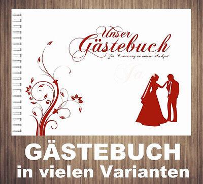 ✽ Gästebuch Für Hochzeit ✽ Spiralbindung ✽ Drei Verschiedene Varianten ✽ Bestellungen Sind Willkommen.