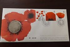 GB QEII FDC PNC B/UNC 2008 90TH ANNIVERSARY END OF WWII COVER AND COIN/MEDAL