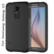 JETech Samsung Galaxy S5 Case Slim Ultra Fit Super Protective Black
