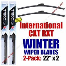 WINTER Wiper Blades 2pk Premium fit 2005-2008 International CXT RXT - 35220x2