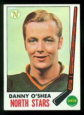 1969 70 TOPPS HOCKEY 131 DANNY O'SHEA (RC) NM MINNESOTA NORTH STARS CARD