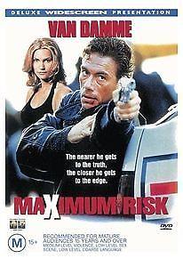 Maximum-Risk-DVD-1998-very-good-condition-t58