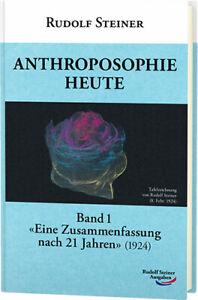 Anthroposophie-heute-Band-1-Rudolf-Steiner