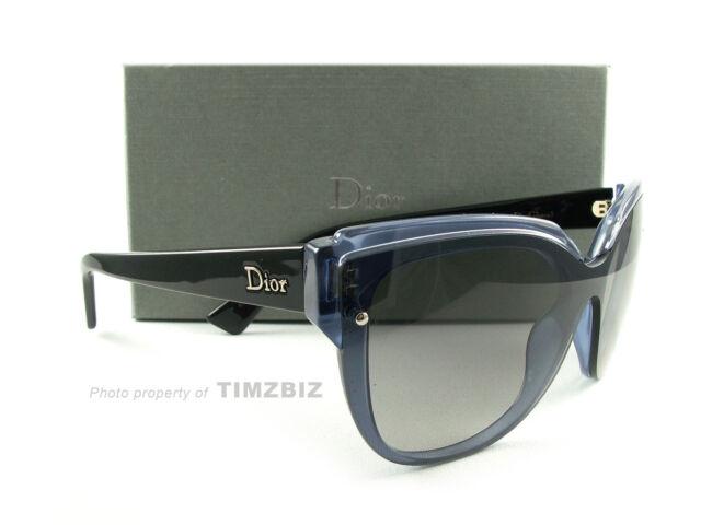 93a5a7ce4a6 Dior Sunglasses Glisten 3 s Blue Opal Black Eu5eu Authentic for sale ...