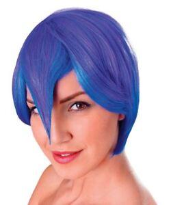 Senoras-Azul-Y-Morado-Manga-Cosplay-Cartoon-Peluca-Fancy-Dress-Accesorio