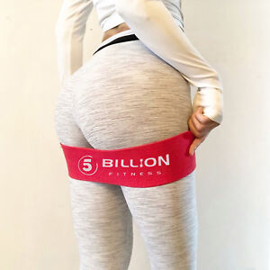 Details about 5BILLION Resistance Hip Band Booty Exercise Glute  Strengthening Non Slip