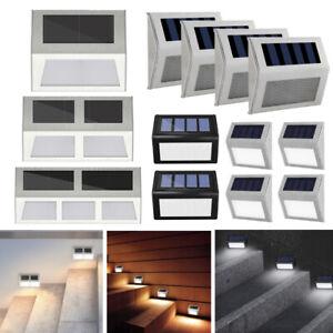 LED Solarleuchte Treppenbeleuchtung Außenleuchte Gartenlampe Wandleuchte