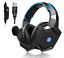 miniature 1 - HP Wired Headset with LED Mic Over-ear Gaming Headphone Stereo Headphone for PS4