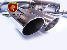 Becker Cat Back Exhaust Fits 2008 09 10 11 12 2013 BMW M3 E90 E92 4.0L