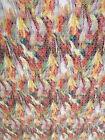 Jacquard Tela 0,5 m amarillo verde rojo 14,60€/m algodón Venta por metros