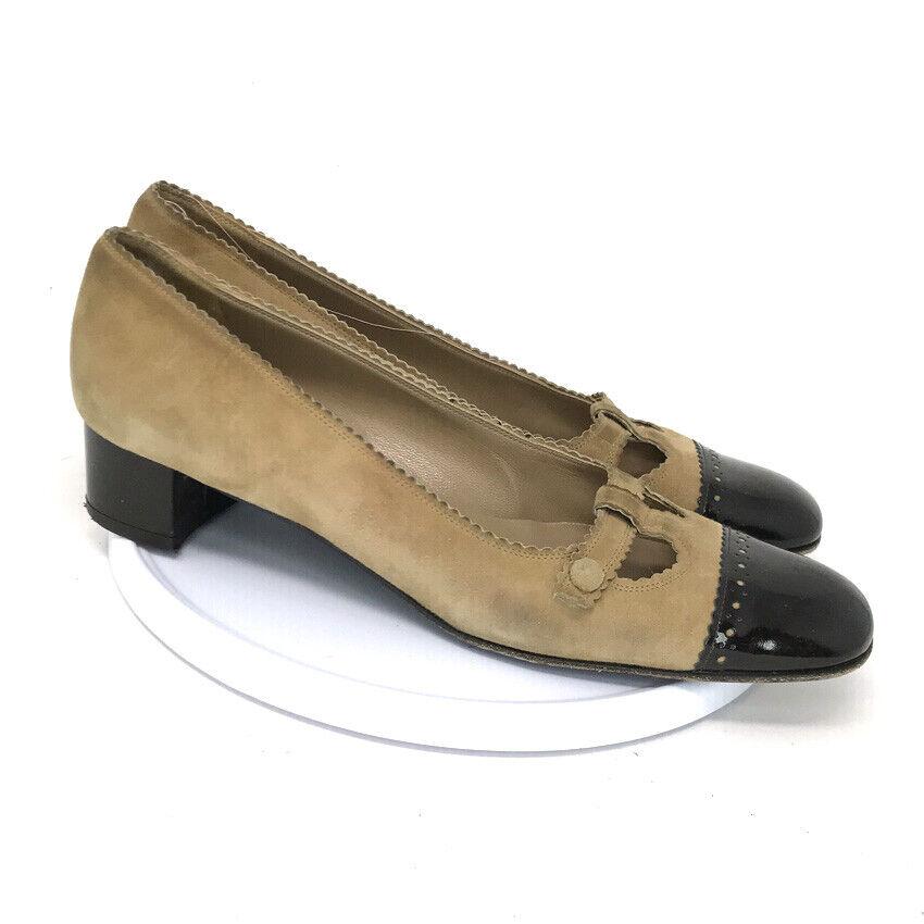 Salvatore Ferragamo Boutique Womens Tan Leather L… - image 1