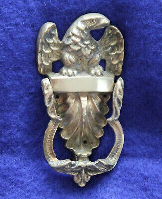 Big Apple Door Knocker Vintage Brass 7 Inches Tall