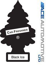 5 x Magic Tree Little Trees Car Home Air Freshener Freshner Scent - BLACK ICE