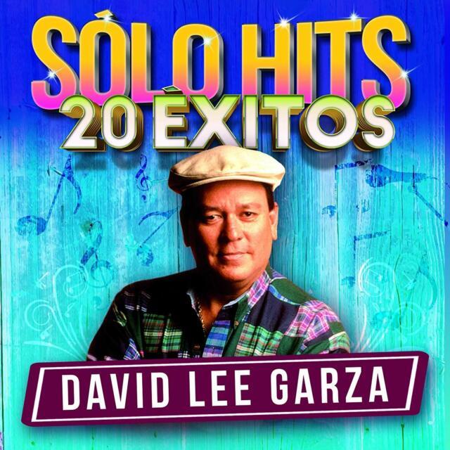 David Lee Garza - solo Hits 20 Exitos CD #