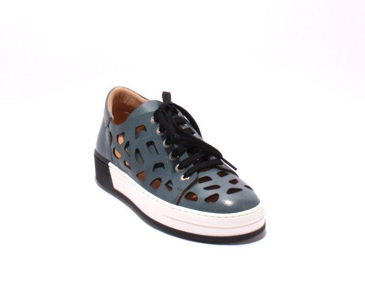 Laura Bellariva 8019 Multi Color Pelle Lace-Up  Shoes 36 /   6
