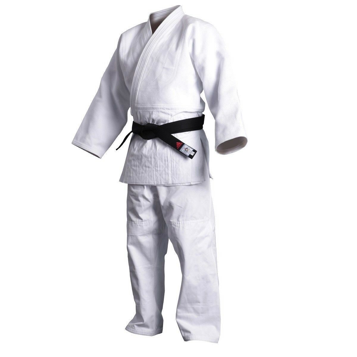 New adidas Judo Training White Gi Uniform Single Weave 100% Cotton-J500