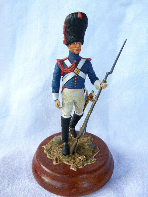 Soldat de plomb 90mm - Carabinier d'infanterie légère 1804 - 1813