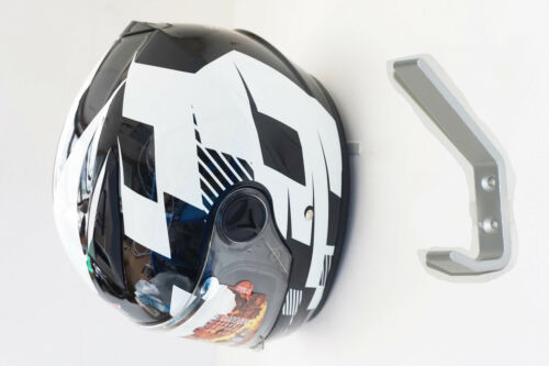 HELMET WALL DISPLAY STORAGE FOOTBALL MOTOCROSS MOTORCYCLE RIDING CYCLING HOCKEY