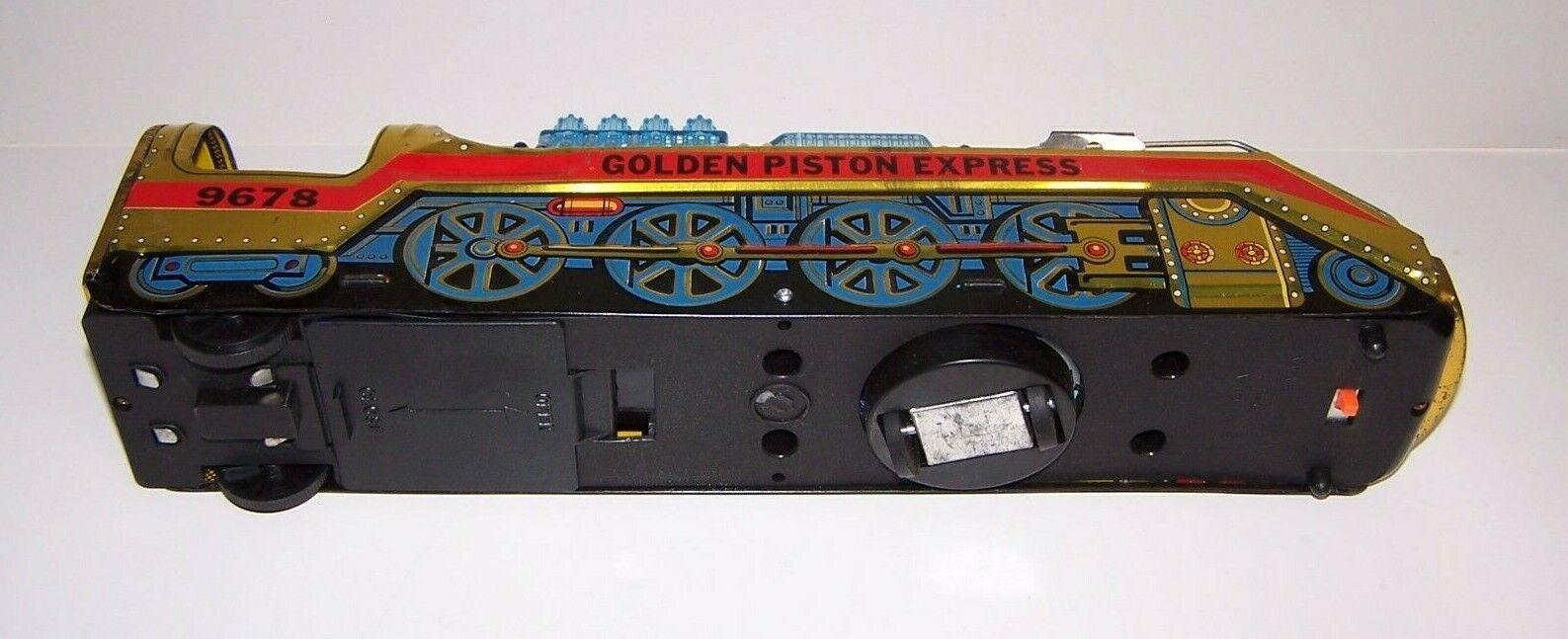golden Piston Fireball Express Train 9678 Battery Battery Battery Operated 476159