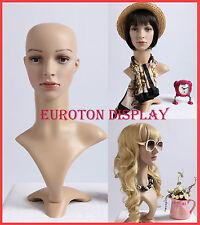 FD Eurotondisplay Dekokopf Perückenkopf Schaufensterpuppe Mannequin Weiblich