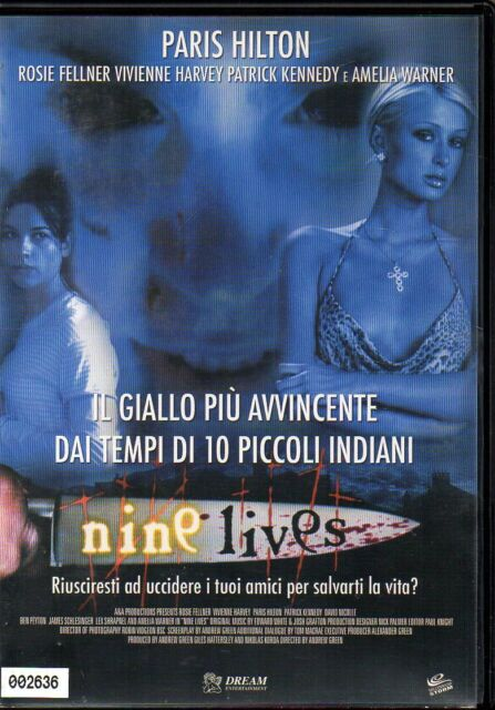 NINE LIVES - DVD (USATO EX RENTAL) - PARIS HILTON