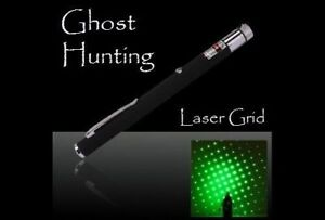 GHOST HUNTING tool.New! GREEN LASER GRID PEN Pointer Marker Paranormal