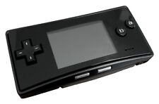 BRAND NEW Faceplate for Original Nintendo Game Boy Micro GBM Black