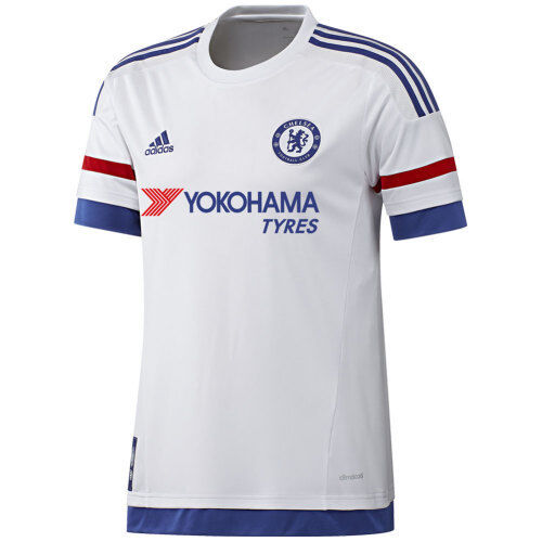 63be0f3d7 AH5108 adidas CFC Chelsea Away White Soccer Jersey Men s Size L for sale  online