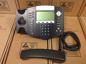 Polycom-SoundPoint-IP-650-IP650-SIP-2201-12630-001-Phone-W-STAND-amp-HANDSET