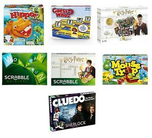 Hasbro-Jeu-Classique-Famille-Amusant-Board-Jeu-Jeux-Scrabble-Cluedo-Guess-Who