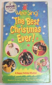 Wee Sing The Best Christmas Ever Vhs.Details About Wee Sing The Best Christmas Ever Vhs Live Video A Happy Holiday Musical Rare