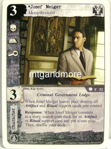 denizens of the underworld 1x Josef meiger #052 Call of Cthulhu lunaires