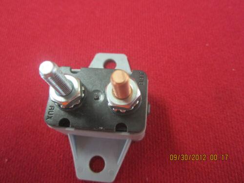 SHORTSTOP 50 AMP MARINE CIRCUIT BREAKER WITH PLASTIC BRACKET P#   123A50-A5P-3
