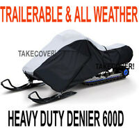 Deluxe Travel Snowmobile Cover Fits 100 - 118 Freeship